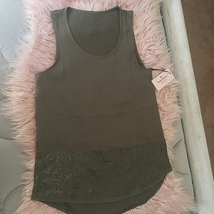 Olive green blouse by Juicy couture. XS. NWT